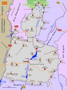 mapa pallars